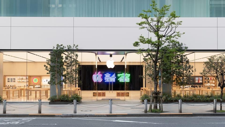 Apple store(実店舗)