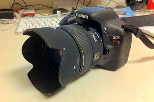 映画のような動画撮影ができるデジイチ - Canon EOS Kiss X4 -